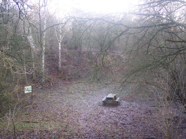 Picnic Area in Dryhill Nature Reserve