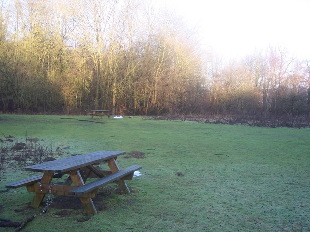 Picnic Area in Dryhill Local Nature Reserve