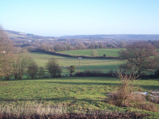 View of the Darenth Valley near Sevenoaks