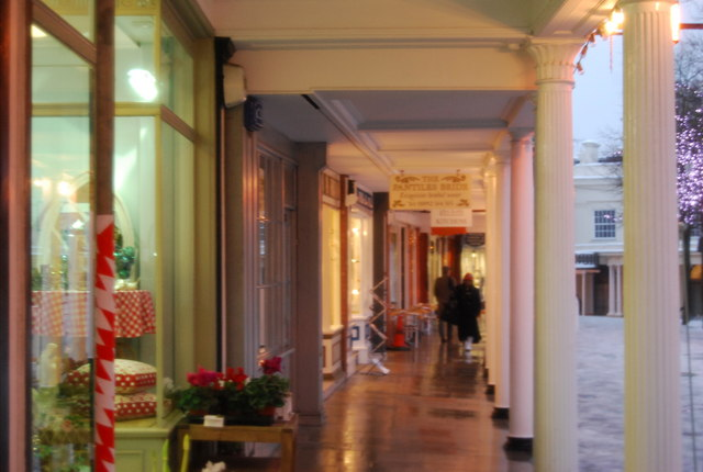 Underneath the Colonnade, The Pantiles