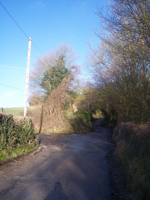 Junction of Sundridge Hill and Pilgrim's Way