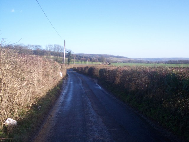 Pilgrims's Way near Shootfield