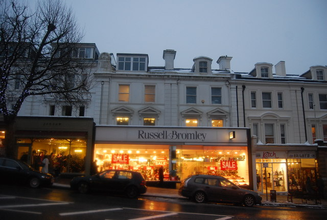 Russell & Bromley, Mount Pleasant