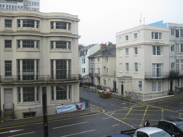 Junction of Cannon Place(foreground) and St.Margaret's Place