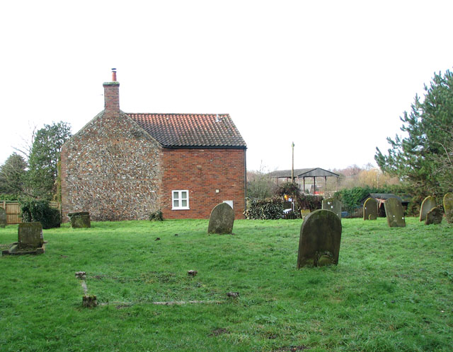 Cottage adjoining St George's church