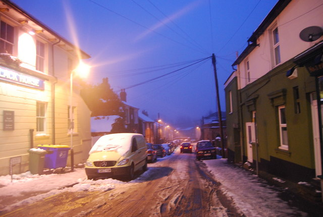 An Icy Stanley Rd