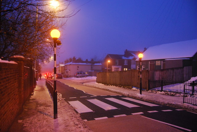 Zebra Crossing, Quarry Rd