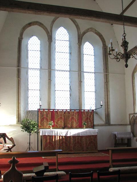 St George's church - the sanctuary