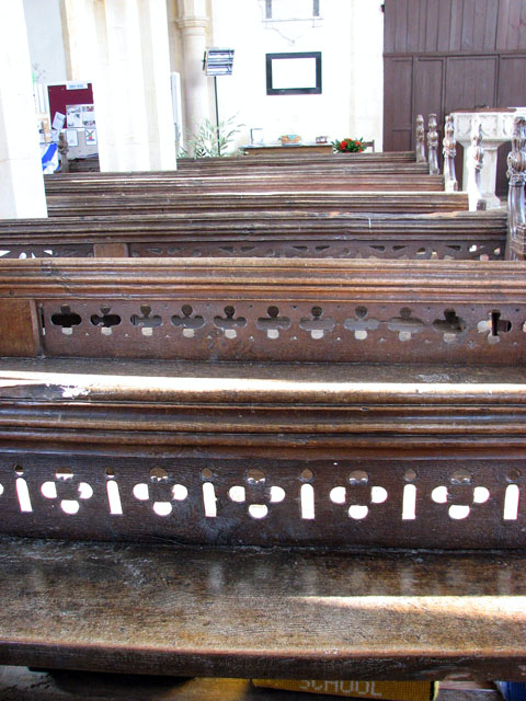 St George's church - C15 benches