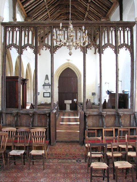 St George's church - return stalls