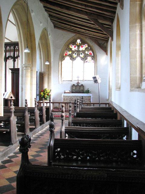 St George's church - south aisle