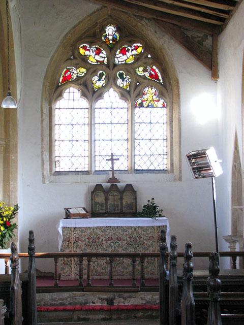 St George's church - south aisle altar