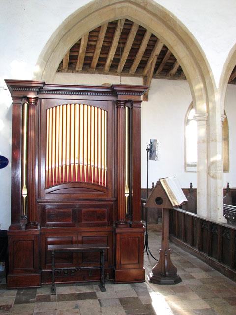 St George's church - church organ