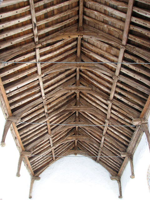 St George's church - the nave roof