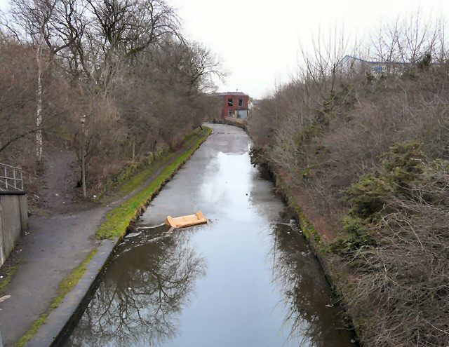 Peak Forest Canal from Nursery Road