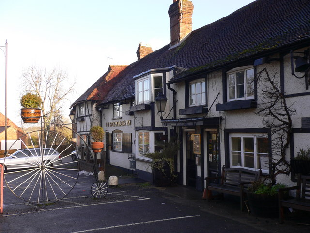 Yet another picture of the Stonemasons Inn