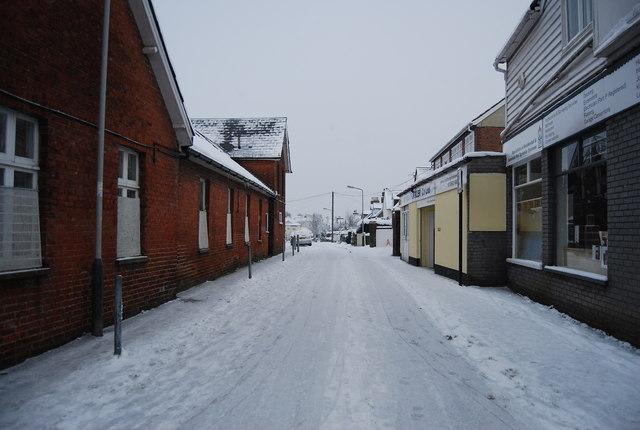 Ice & snow, Newcomen Rd