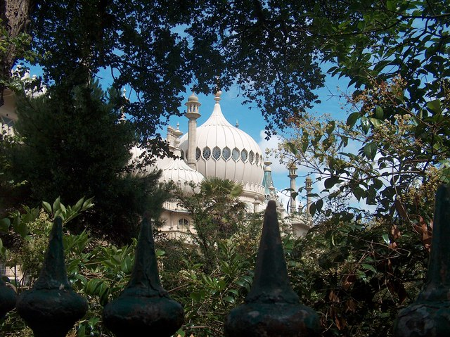 The Royal Pavilion Brighton from the south