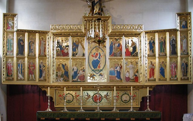 St Mark, Prince Albert Road, NW1 - Reredos