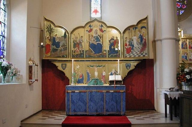 St Mark, Prince Albert Road, NW1 - Lady Chapel