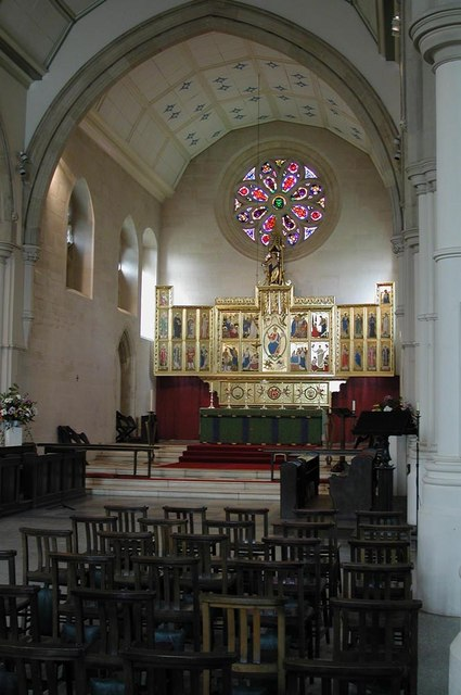 St Mark, Prince Albert Road, NW1 - Interior