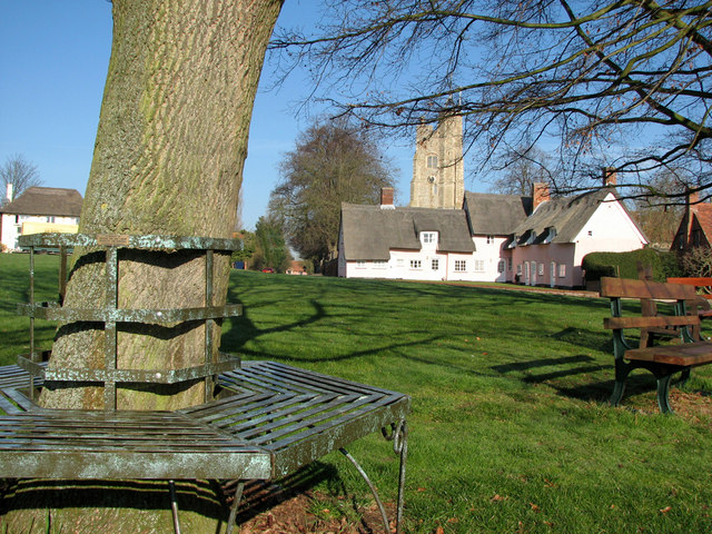 Cavendish: seats on the green
