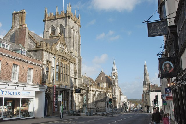 Dorchester: Museum and St Peter's Church