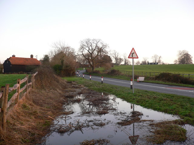 New Bridge Road west of Billingshurst