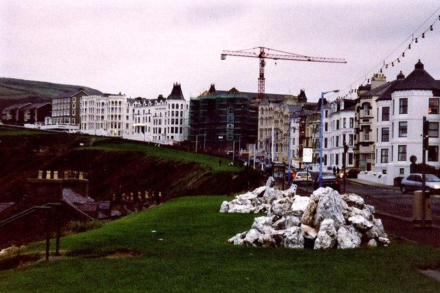 Port Erin - Buildings along Promenade