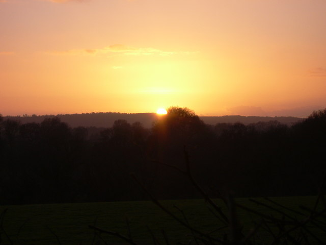 Sunset over Sussex