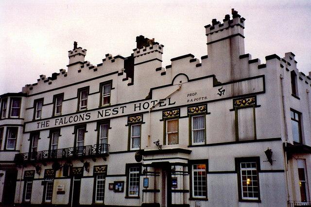 Port Erin - Falcon's Nest Hotel off Promenade