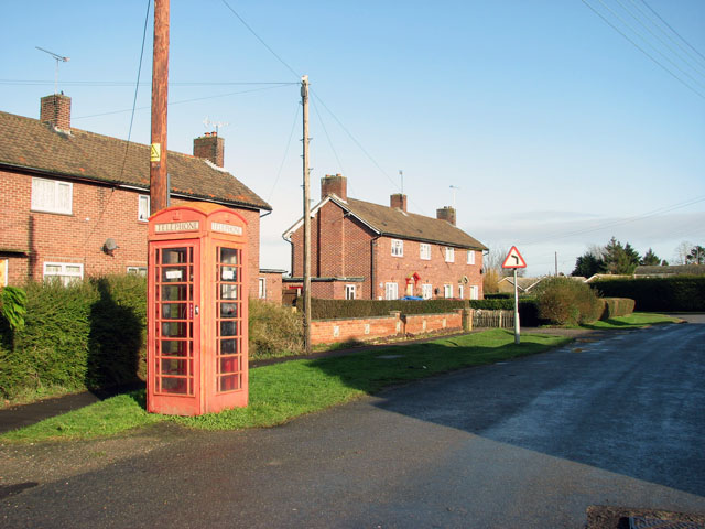 K6 telephone box in Church Road