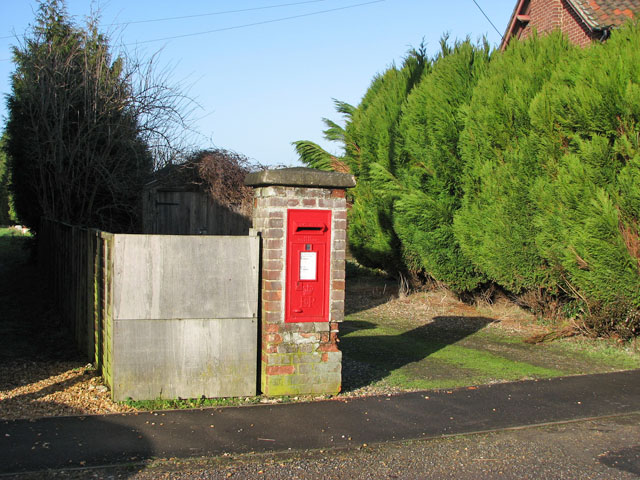 Postbox in Church Road