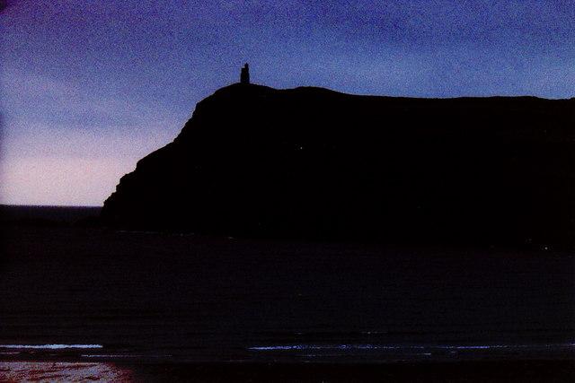 Port Erin Bay and Bradda Head Tower