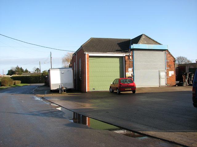 Garage in Church Road