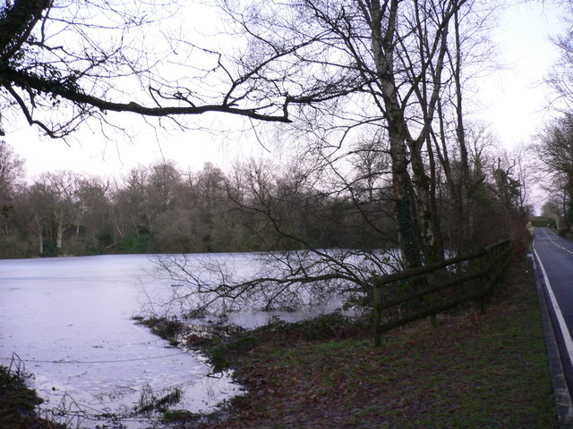 Upper North Pond at Shillinglee