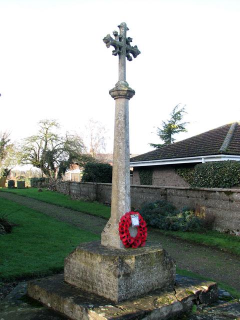 War Memorial, Foulden