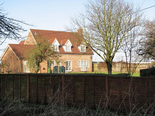 Cottage adjoining All Saints church