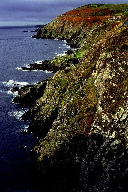 Douglas - Marine Drive (A37) - Coastline