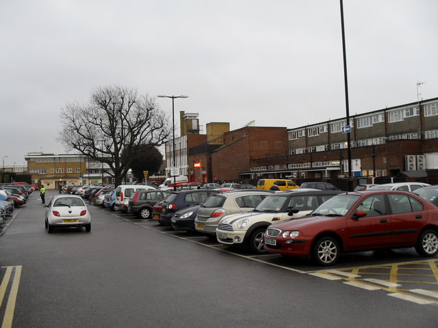 Car park in Churchill Parade