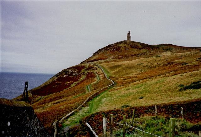 Port Erin - Bradda Head Walk and Milners Tower