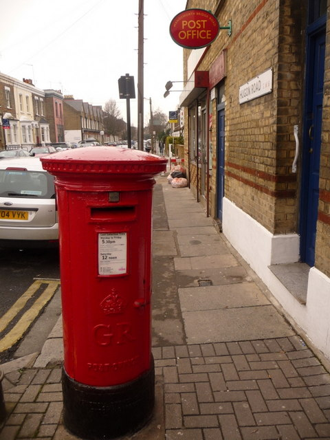 Fulham: Wandsworth Bridge Road Post Office and postbox № SW6 16