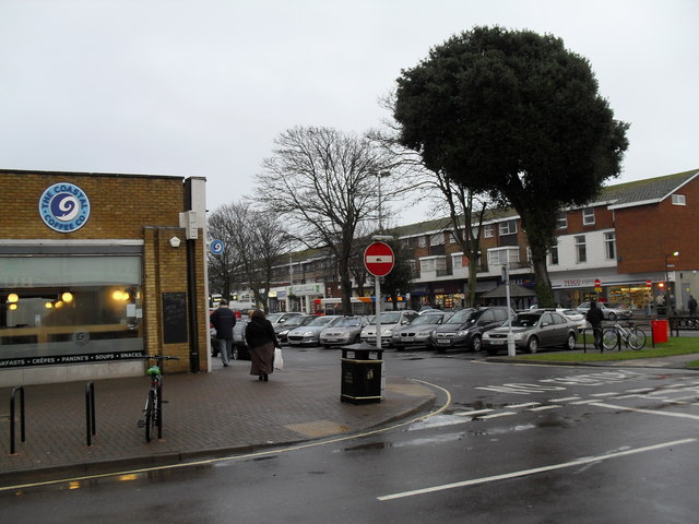 Approaching the centre of Rustington