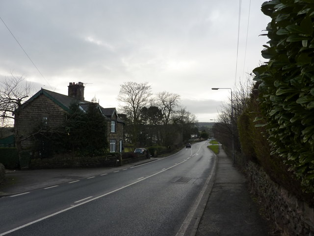 Cottages on the Walton Road, Chesterfield