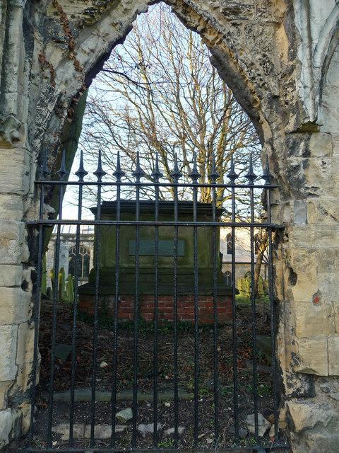 Tomb of William Etty, St Olave's churchyard