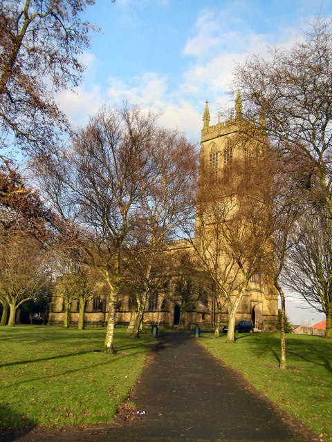 St Thomas and St John Church with St Philip, Radcliffe