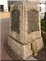 SZ0890 : Bournemouth: Undercliff Drive monument by Chris Downer