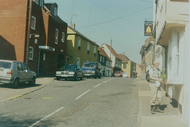 The Bell Inn, Horndon-on-the-Hill in 1997