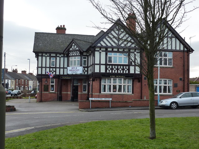 The Angel, St. Augustine's Crescent, Chesterfield