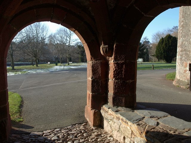 Arches, Gatehouse, Torre Abbey